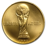 1994-W World Cup - $5 Gold Commemorative - MS-69 PCGS