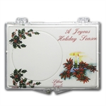 Snap-Lock Holder - A Joyous Holiday Season (Silver Eagle)