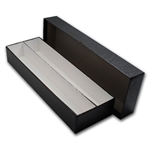 2 X 2 Double Row - 4 1/2x2x14 - Black Coin Storage Box
