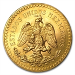 Mexican Gold 50 Pesos AGW 1.2057 (Random Year)