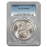 1898-O Morgan Dollar - MS-66 PCGS