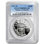 1997-W 1 oz Proof Platinum American Eagle PR-69 PCGS DCAM