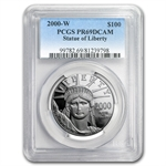 2000-W 1 oz Proof Platinum American Eagle PR-69 PCGS