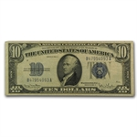 1934-D $10.00 Silver Certificate (Narrow) Very Fine