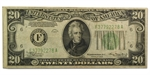 1934 (F-Atlanta) $20 FRN (Very Fine)
