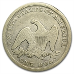 1847 Liberty Seated Dollar - Fine