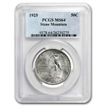 1925 Stone Mountain MS-64 PCGS