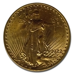 1922 $20 St. Gaudens Gold Double Eagle - MS-65 PCGS