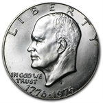 1976-S Eisenhower Dollar 40% Silver (Type 1) BU MS-60 - MS-65