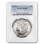 1879-S Morgan Dollar - MS-65 PCGS