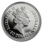 1988 1/2 oz Proof Australian Platinum Koala
