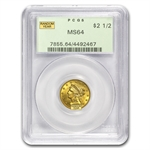 $2.50 Liberty Gold Quarter Eagle - MS-64 NGC or PCGS