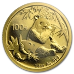 2007 (1/4 oz) Gold Chinese Pandas - (Sealed)