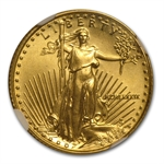 1989 1/10 oz Gold American Eagle MS-69 NGC