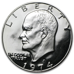1974-S Eisenhower Dollar 40% Silver - Gem Proof