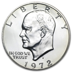1972-S Eisenhower Dollar 40% Silver - Gem Proof