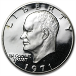 1971-S Eisenhower Dollar 40% Silver - Gem Proof