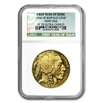 2006-W 1 oz Proof Gold Buffalo PF-70 NGC (First Year of Issue)