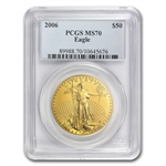 2006 1 oz Gold American Eagle MS-70 PCGS