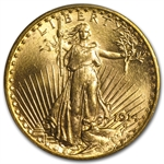 1914-S $20 St. Gaudens Gold Double Eagle - MS-63 PCGS