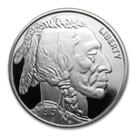2 oz Buffalo Nickel Replica Silver Round (1913) .999 Fine