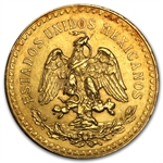 Mexico 1924 50 Pesos Gold Coin (AU/BU)