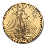 1998 1/10 oz Gold American Eagle MS-70 NGC