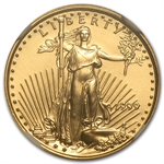 1999 1/10 oz Gold American Eagle MS-70 NGC