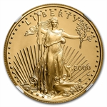2000-W 1/2 oz Proof Gold American Eagle PF-70 NGC