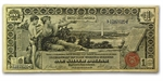 1896 $1 Silver Certificate Educational Note  (Very Fine)