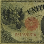 1917 Legal Tender $1.00 George Washington (Very Good)