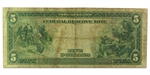 1914 (B-New York) $5 FRN Type A (Very Good)