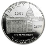 2001-P Capitol Visitor Center $1 Silver Commem - PF-69 UCAM NGC