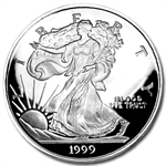 4 oz Large Silver Eagle Replica .999 Fine