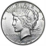 1923-S Peace Dollar - Brilliant Uncirculated