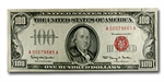 Series 1966 $100 U. S. Note (Very Fine Details)