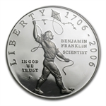 2006-P Ben Franklin Scientist $1 Silver Commem PF-70 UCAM NGC