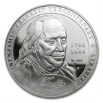 2006-P B. Franklin Founding Father $1 Silver Comm. PF-70 UCAM NGC