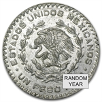 1957-1967 Mexican Silver 1 Peso - Average Circulated - ASW .0514