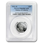 2002-W 1/4 oz Proof Platinum American Eagle PR-69 PCGS