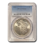 1881 Morgan Dollar - MS-64 PCGS