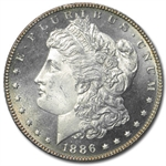 1886 Morgan Dollar - MS-64 PL Proof Like PCGS
