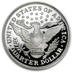 2 oz Barber Quarter Dollar (Replica) Silver Round .999 Fine