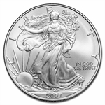 2007 1 oz Silver American Eagle (Brilliant Uncirculated)
