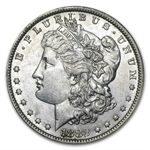 1882-O/S Morgan Dollar - Almost Uncirculated-58