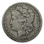 1883-CC Morgan Dollar - Very Good