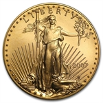 2007 1 oz Gold American Eagle - Brilliant Uncirculated