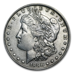 1886-O Morgan Dollar - Almost Uncirculated-50