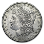 1886-O Morgan Dollar - Almost Uncirculated-55