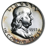 1953 Proof Franklin Half Dollar